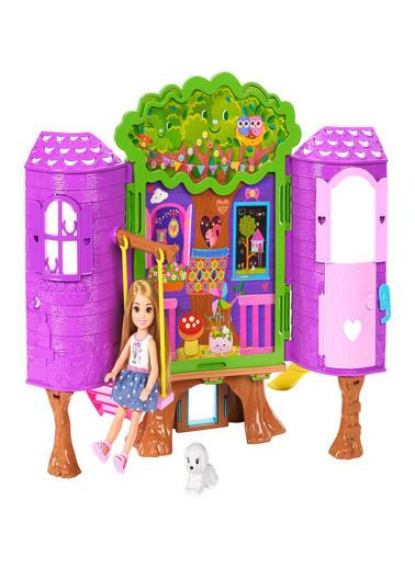 Barbie Barbie Chelsea nin Ağaç Evi FPF83 Renkli